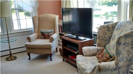 South Chatham Cape Cod vacation rental - Enjoy Large Flatscreen TV in Living Room