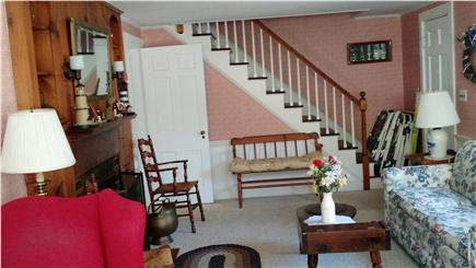 South Chatham Cape Cod vacation rental - North View of Spacious Living Room