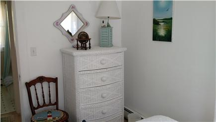 South Chatham Cape Cod vacation rental - Bright Queen Bedroom - Furnishings & Large Closet