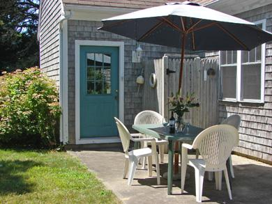 Brewster Cape Cod vacation rental - Dine outside on patio, adjacent to outdoor shower