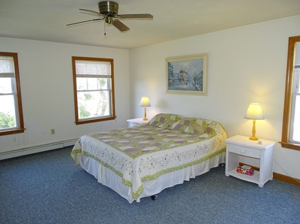 Brewster Cape Cod vacation rental - Large Master suite upstairs with queen bed and private bathroom