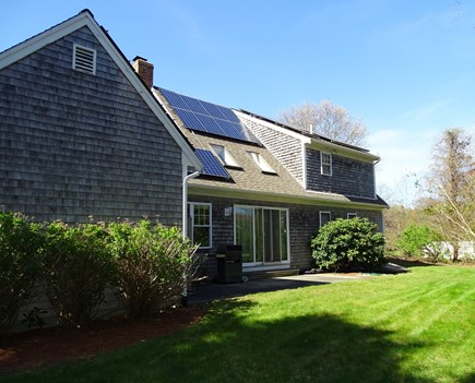 Brewster Cape Cod vacation rental - Backyard great for play!