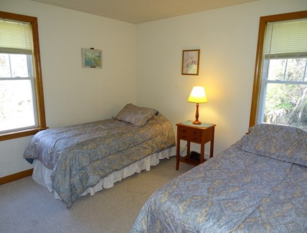 Brewster Cape Cod vacation rental - Twin bedroom on main floor