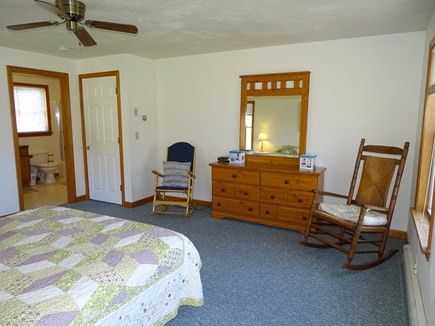 Brewster Cape Cod vacation rental - Master bedroom, facing full master bath