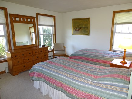 Brewster Cape Cod vacation rental - Second twin bedroom on main floor