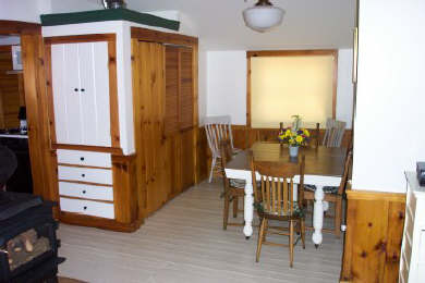Centerville Centerville vacation rental - Dining Area with kitchen on left