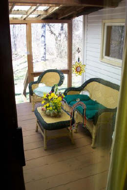 Centerville Centerville vacation rental - Sreened Porch