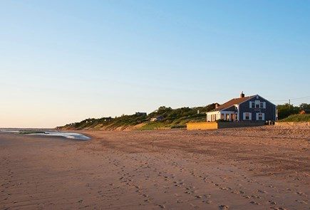 Eastham Cape Cod vacation rental - Sand and sky.