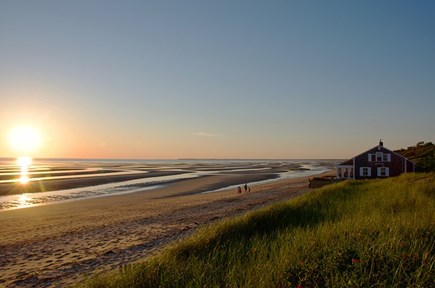 Eastham Cape Cod vacation rental - The end of a perfect day.