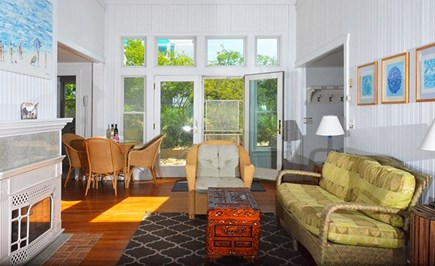 Eastham Cape Cod vacation rental - Bright, sunny living room.