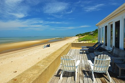 Eastham Cape Cod vacation rental - Deck for sunning ...