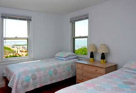Eastham Cape Cod vacation rental - Downstairs twin. One more twin upstairs.