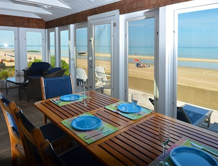 Eastham Cape Cod vacation rental - Seaside dining. Your table awaits.