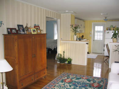 Scituate, Humarock MA vacation rental - Living Room and Kitchen