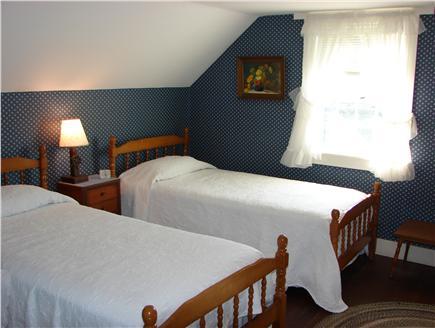 Harwich Port Cape Cod vacation rental - Second Floor Bedroom with Twin Beds & Ocean View