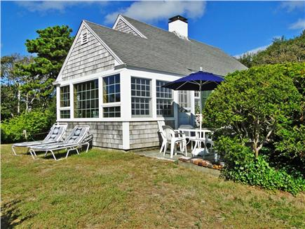 Harwich Port Cape Cod vacation rental - Patio with Ocean View