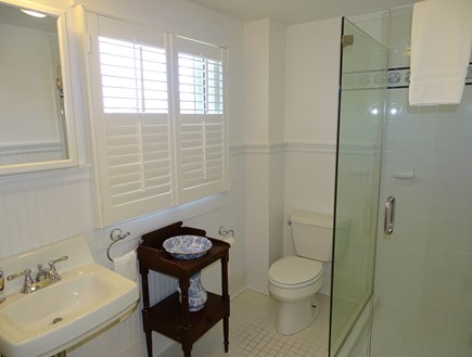 Woods Hole, Falmouth Woods Hole vacation rental - Main house with updated bathrooms, all glass enclosed showers