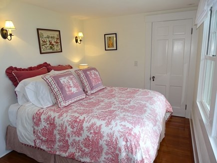 Woods Hole, Falmouth Woods Hole vacation rental - Queen bedroom in main house, views of beach path