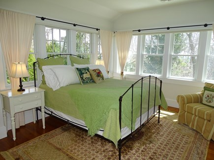 Woods Hole, Falmouth Woods Hole vacation rental - Queen bedroom with water views