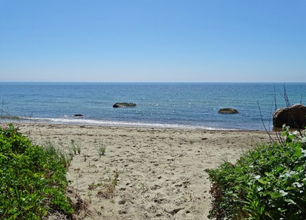 Woods Hole, Falmouth Woods Hole vacation rental - Your private beach - 15 barefoot steps from house