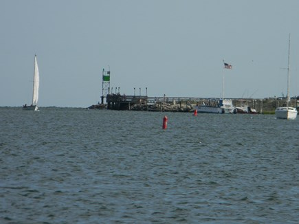 South Yarmouth Cape Cod vacation rental - Bass River Public Beach at mouth of river 1/2 mile via sidewalks