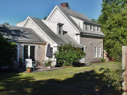 South Yarmouth Cape Cod vacation rental - Front of home with completely fenced in private yard. No traffic