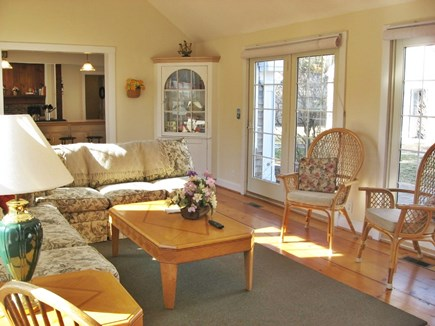 South Yarmouth Cape Cod vacation rental - Family room with 60' LED
