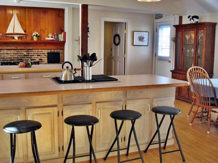 South Yarmouth Cape Cod vacation rental - Large fully equipped kitchen seating for 18 1/2 bath with laundry