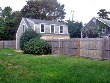 South Yarmouth Cape Cod vacation rental - Separate Cottage 50 feet from main home. frig, table and couches