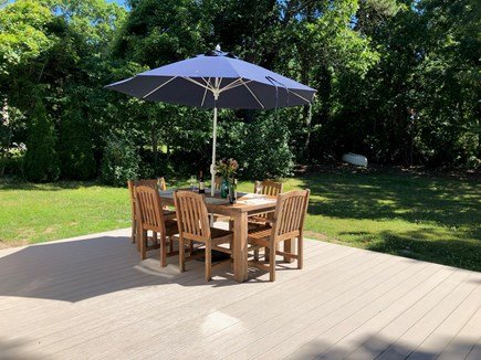 Chatham Cape Cod vacation rental - New deck 2018 with in deck lighting