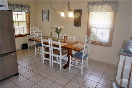 Chatham Cape Cod vacation rental - Dining area adjacent to kitchen and back deck