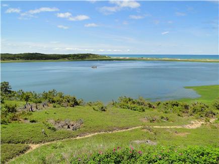 Wellfleet Cape Cod vacation rental - Upper deck view