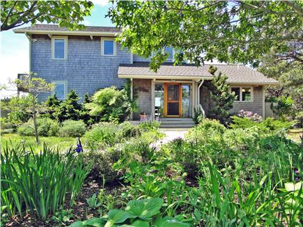 Wellfleet Cape Cod vacation rental - Front of waterfront home