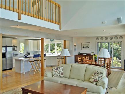 Wellfleet Cape Cod vacation rental - Open living room