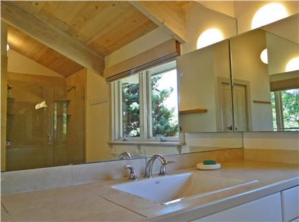 Wellfleet Cape Cod vacation rental - Master bath