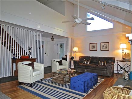 Brewster Cape Cod vacation rental - Main level family/TV room recently updated