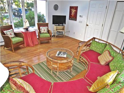 Brewster Cape Cod vacation rental - Second TV room on the main level with plenty of light