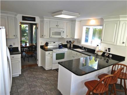 Brewster Cape Cod vacation rental - Recently renovated kitchen handles meals for two to twelve!