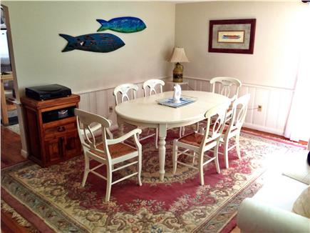 Chatham Cape Cod vacation rental - Dining Room and living room combination (seating for 8)