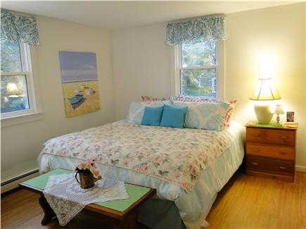 Chatham, Ridgevale Beach Cape Cod vacation rental - Master bedroom with king size bed on main floor