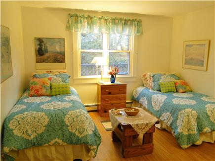 Chatham, Ridgevale Beach Cape Cod vacation rental - Twin Bedroom on main floor w/ porta crib in closet