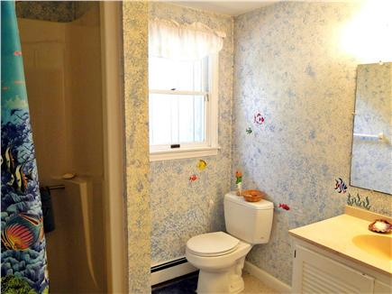 Chatham, Ridgevale Beach Cape Cod vacation rental - Full bathroom with shower on lower level