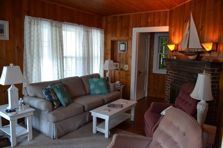 Falmouth Heights Cape Cod vacation rental - Living Area