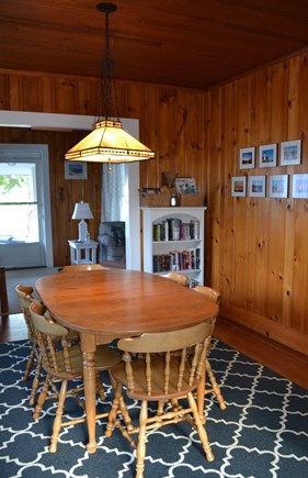 Falmouth Heights Cape Cod vacation rental - Dining Room For Eight