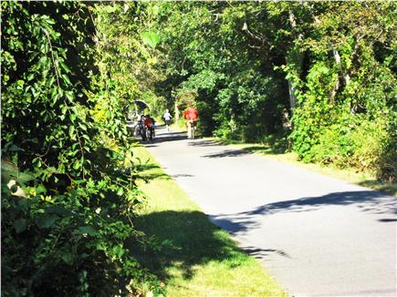 Brewster Cape Cod vacation rental - Easy access to the Cape Cod Rail Trail right on the property