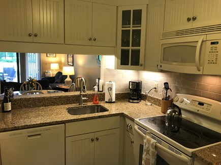 Ocean Edge, Brewster Cape Cod vacation rental - Updated, fully equipped kitchen.
