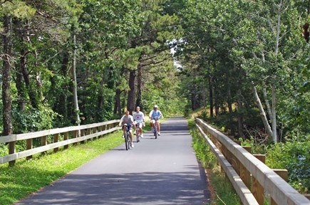 Orleans Cape Cod vacation rental - Cape Cod Rail Trail just 1/2 mile, 4 minute bike ride from house.