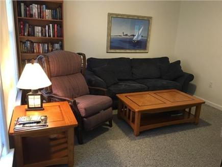 Orleans Cape Cod vacation rental - Cozy family room with flat screen TV, plenty of games & books too
