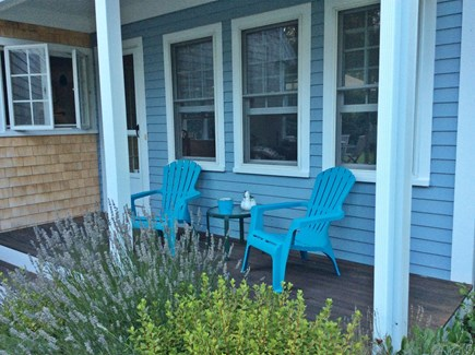 Eastham Cape Cod vacation rental - Front farmer porch