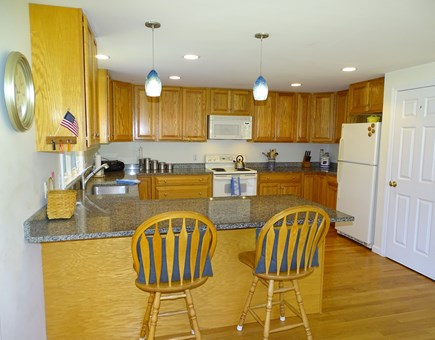 Eastham Cape Cod vacation rental - Spacious kitchen with breakfast bar